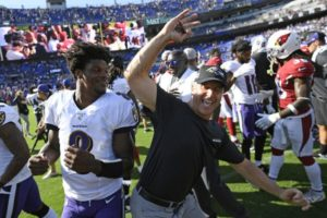 The Ravens are 2-0, but failed to cover against the Cardinals